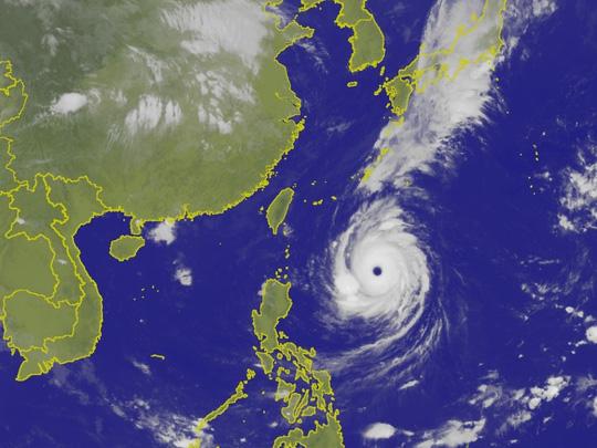 Siêu bão Trami đầy đe dọa nhìn từ không gian Ảnh 5