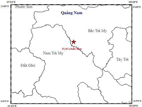 Lại xảy ra động đất gần thủy điện Sông Tranh 2 Ảnh 1