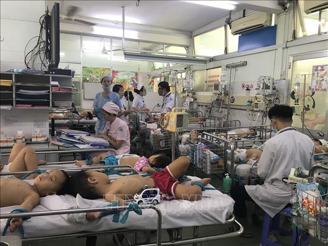 Trong 3 tuần, trẻ mắc bệnh chân miệng tại TP Hồ Chí Minh tăng gấp 5 lần Ảnh 1