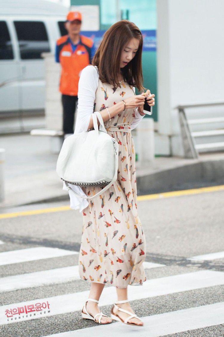 Mùa thu đã về đến cửa, mặc gì để đơn giản mà sành điệu như sao Hàn? Ảnh 22