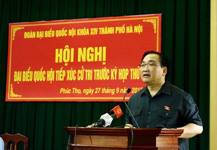 Bí thư Thành ủy Hoàng Trung Hải: Phát huy hơn nữa tiềm năng, lợi thế để phát triển địa phương Ảnh 1