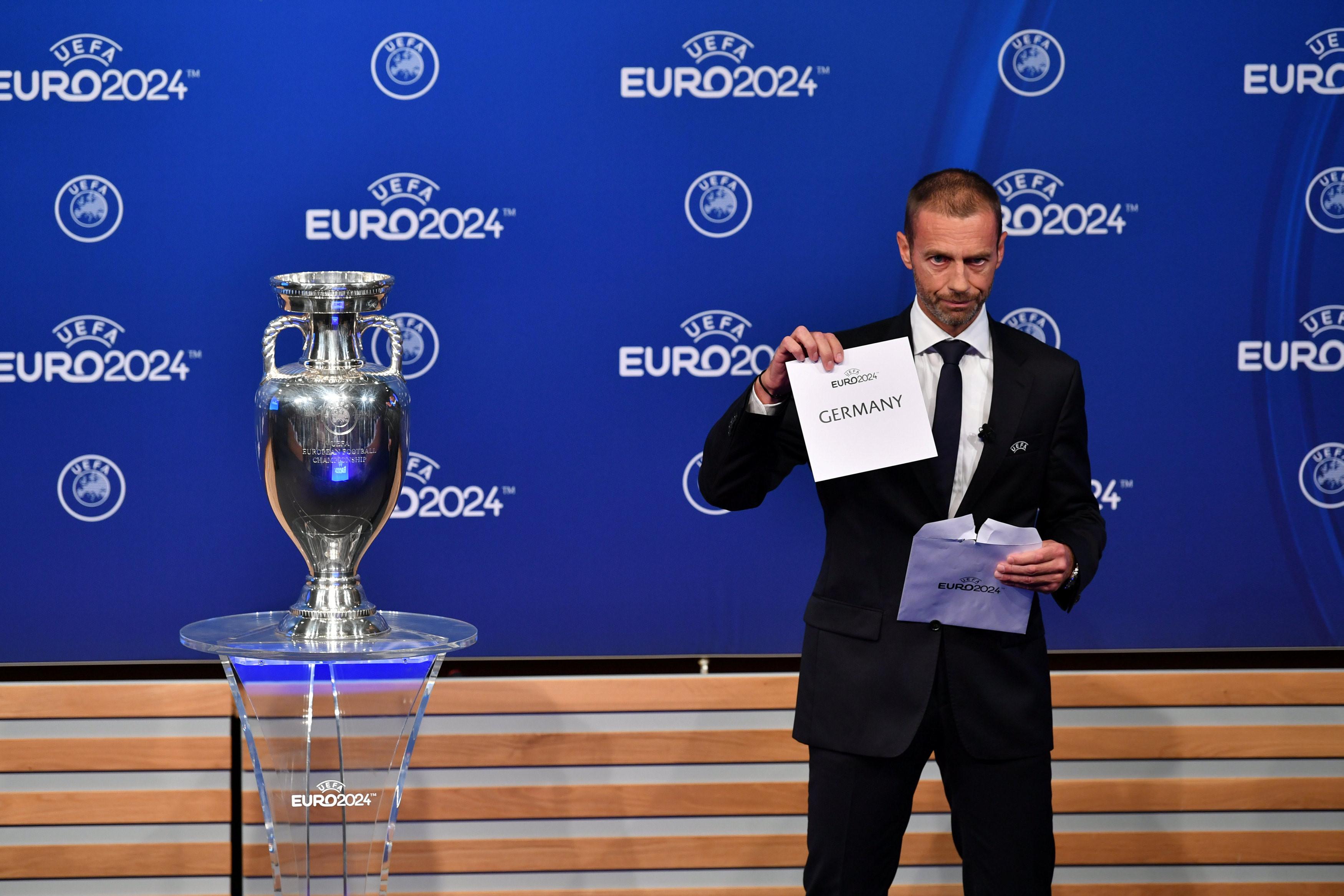 Đức giành quyền đăng cai EURO 2024 Ảnh 1