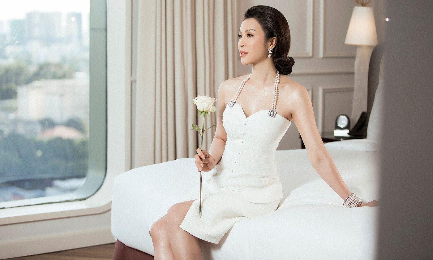 MC Thanh Mai 'đẹp không tì vết' ở tuổi 45 Ảnh 2