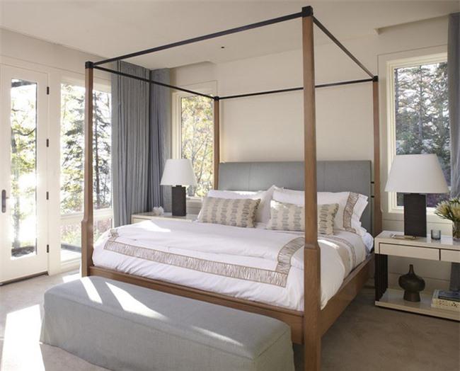 Những mẫu giường Canopy vừa đẹp vừa nữ tính khiến chị em mê mẩn Ảnh 3