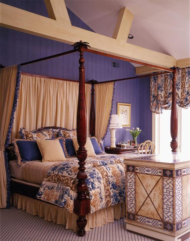 Những mẫu giường Canopy vừa đẹp vừa nữ tính khiến chị em mê mẩn Ảnh 2