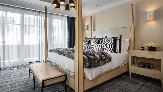 Những mẫu giường Canopy vừa đẹp vừa nữ tính khiến chị em mê mẩn Ảnh 21