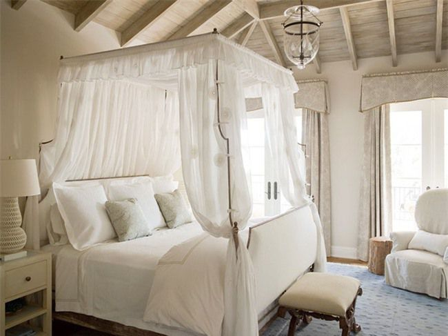 Những mẫu giường Canopy vừa đẹp vừa nữ tính khiến chị em mê mẩn Ảnh 15