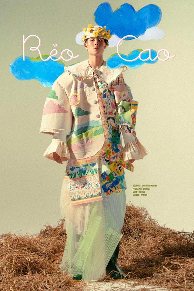 Khi sinh viên ĐH Văn Lang khoe tài thiết kế thời trang, người xem cứ nghĩ đang dự show diễn nghệ thuật 'chất phát ngất' Ảnh 1