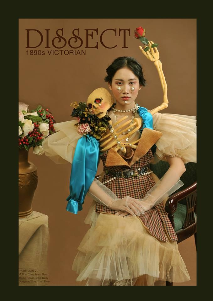 Khi sinh viên ĐH Văn Lang khoe tài thiết kế thời trang, người xem cứ nghĩ đang dự show diễn nghệ thuật 'chất phát ngất' Ảnh 6