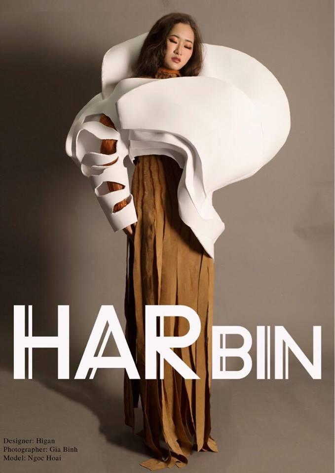 Khi sinh viên ĐH Văn Lang khoe tài thiết kế thời trang, người xem cứ nghĩ đang dự show diễn nghệ thuật 'chất phát ngất' Ảnh 8