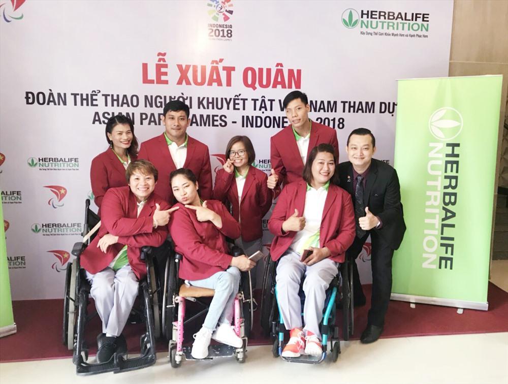 Đoàn thể thao người khuyết tật Việt Nam xuất quân dự Asian Para Games Ảnh 3