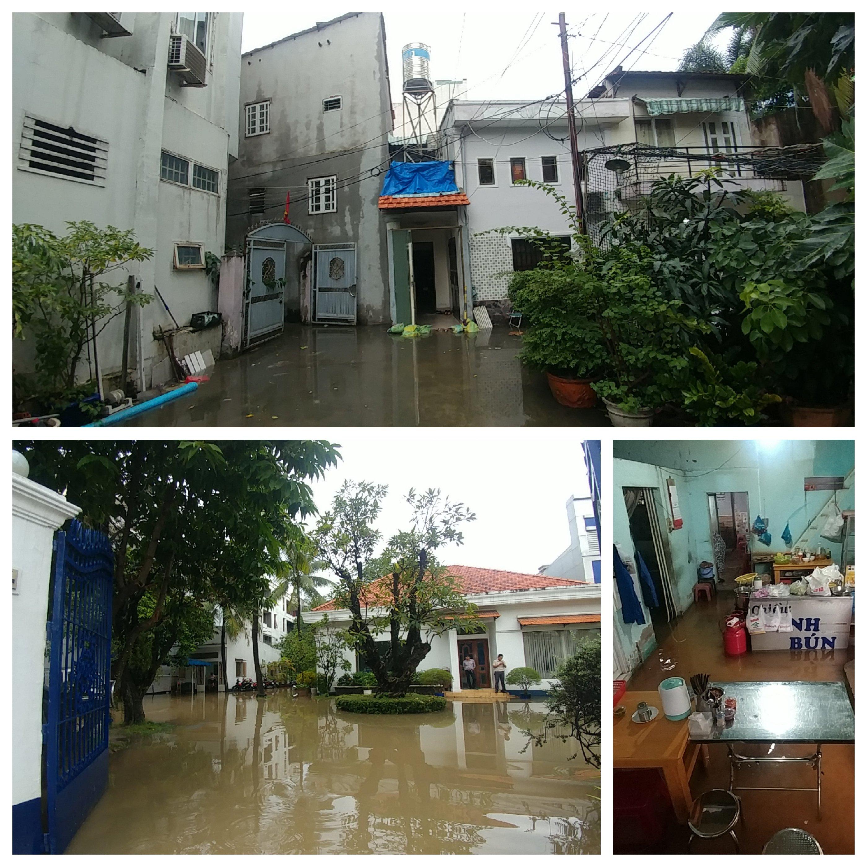 Khu nhà giàu Sài Gòn ngập 'te tua', dân rùng mình lội nước bẩn Ảnh 8