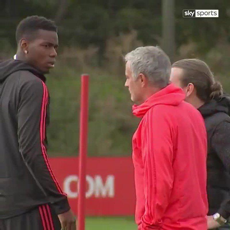 Pogba và Mourinho ca bài gặp nhau làm ngơ Ảnh 3