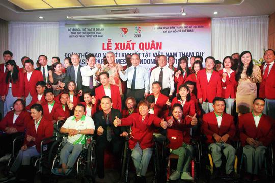 Việt Nam xuất quân dự Asian Paragames 2018 Ảnh 1