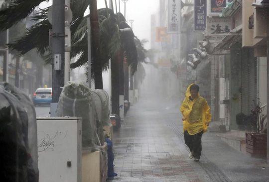 Chưa hồi phục sau bão Jebi, Nhật Bản lại hứng bão Trami Ảnh 1