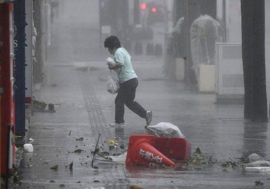 Chưa hồi phục sau bão Jebi, Nhật Bản lại hứng bão Trami Ảnh 2