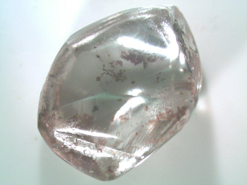 Đi dạo trong công viên, bà lão nhặt được viên kim cương trắng 'khủng' Ảnh 1