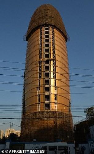 Tòa nhà vừa mở cửa ở Trung Quốc gây tranh cãi vì có hình dáng… nhạy cảm Ảnh 2