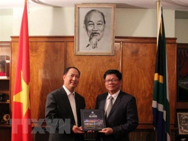 Đà Nẵng muốn thúc đẩy thương mại và du lịch với các đối tác Nam Phi Ảnh 1