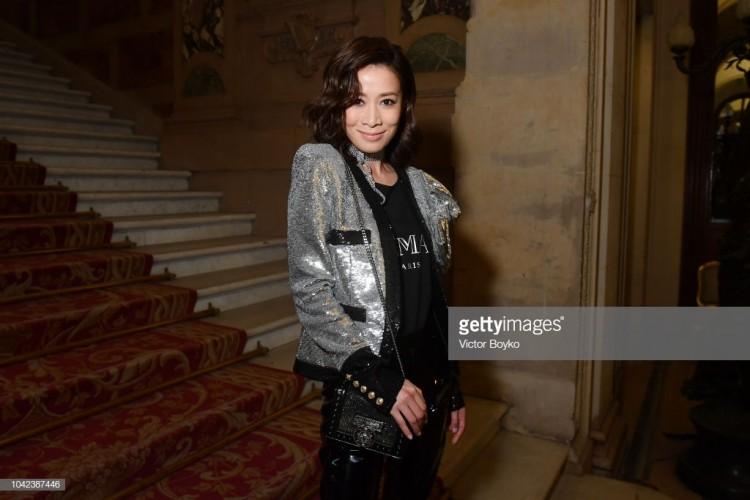 Hứa Ngụy Châu bảnh bao bên 'noona' Sandara Park, Xa Thi Mạn và Mai Davika ở 'Paris Fashion Week' ngày 4 Ảnh 8