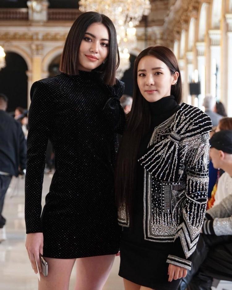 Hứa Ngụy Châu bảnh bao bên 'noona' Sandara Park, Xa Thi Mạn và Mai Davika ở 'Paris Fashion Week' ngày 4 Ảnh 21