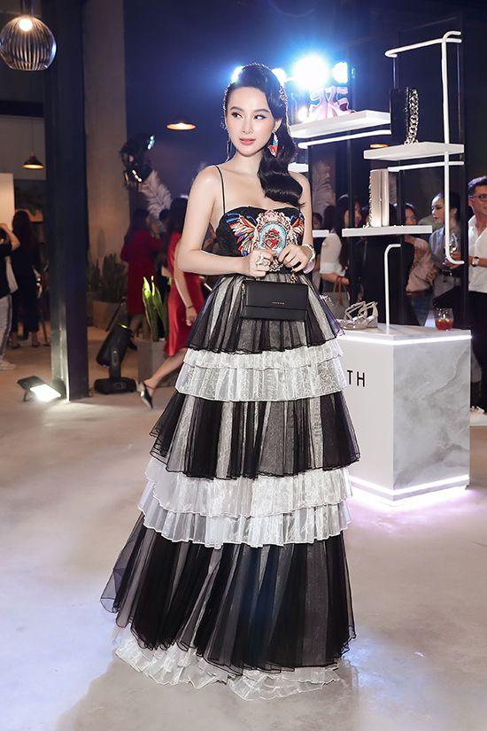 Angela Phương Trinh diện váy xếp tầng nổi bần bật như minh tinh tại sự kiện Ảnh 1