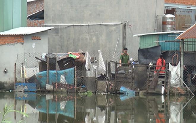 Người đàn ông tử vong bất thường trong căn nhà trọ ở Sài Gòn Ảnh 1