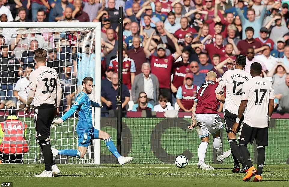 Công cùn thủ kém, Quỷ đỏ thua bạc nhược trước West Ham Ảnh 10