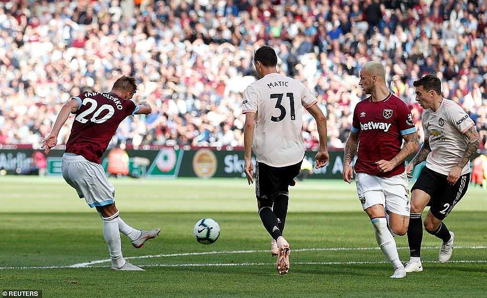 Công cùn thủ kém, Quỷ đỏ thua bạc nhược trước West Ham Ảnh 14