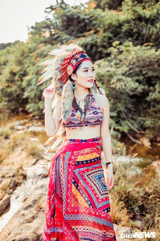 Cặp đôi Hà Tĩnh chụp ảnh cưới phong cách thổ dân đẹp rực rỡ Ảnh 12