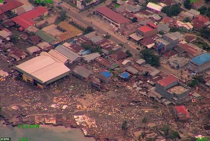 Chùm ảnh Indonesia hoang tàn từ trên cao Ảnh 9