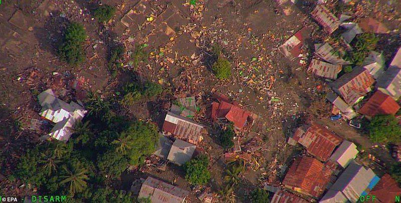 Chùm ảnh Indonesia hoang tàn từ trên cao Ảnh 11