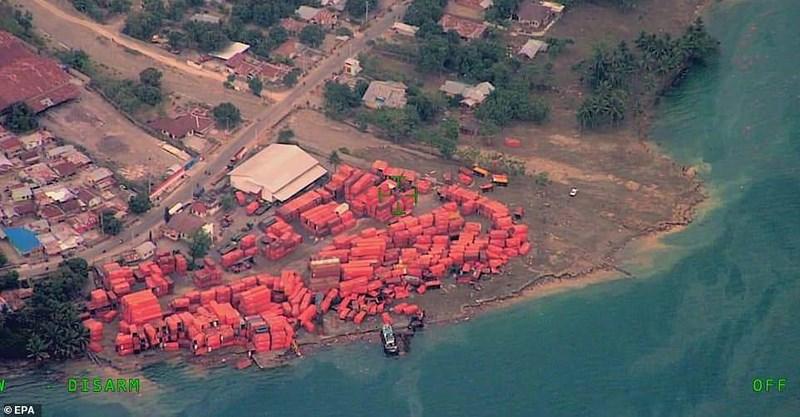 Chùm ảnh Indonesia hoang tàn từ trên cao Ảnh 5