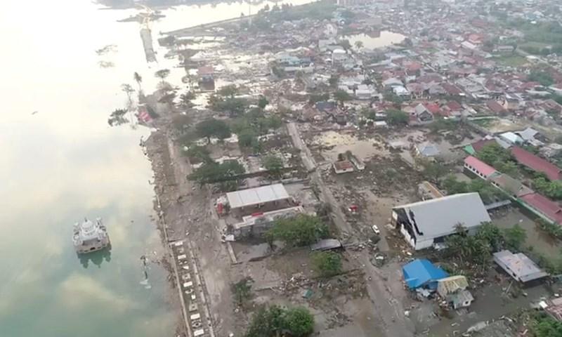 Chùm ảnh Indonesia hoang tàn từ trên cao Ảnh 4