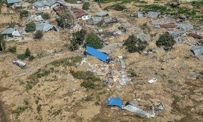Chùm ảnh Indonesia hoang tàn từ trên cao Ảnh 1