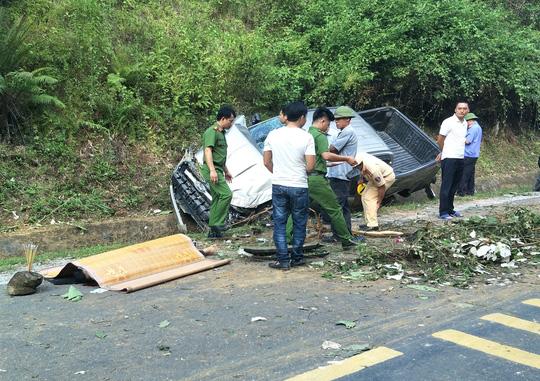 Tai nạn xe bán tải trên đường Hồ Chí Minh, 1 người chết, 1 người bị thương Ảnh 1