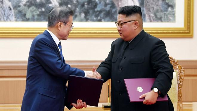 Ông Kim Jong Un tặng đôi 'quốc khuyển' cho Tổng thống Hàn Quốc Ảnh 1
