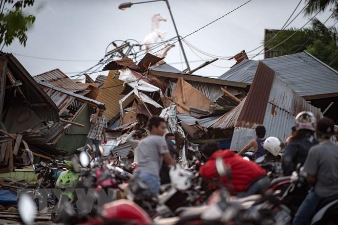 Những hình ảnh ám ảnh về thảm họa động đất, sóng thần ở Indonesia Ảnh 8