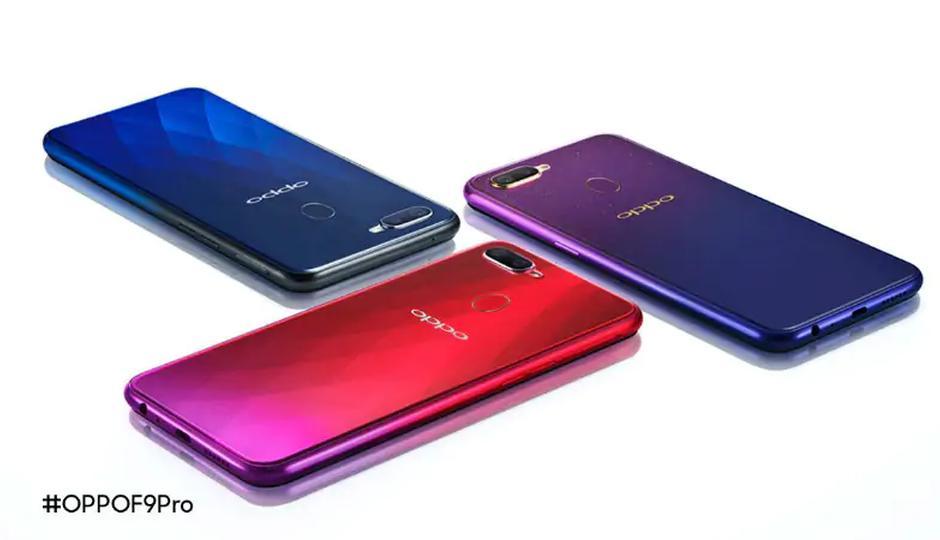 Oppo F9 phiên bản màu tím có giá gần 8 triệu đồng Ảnh 1