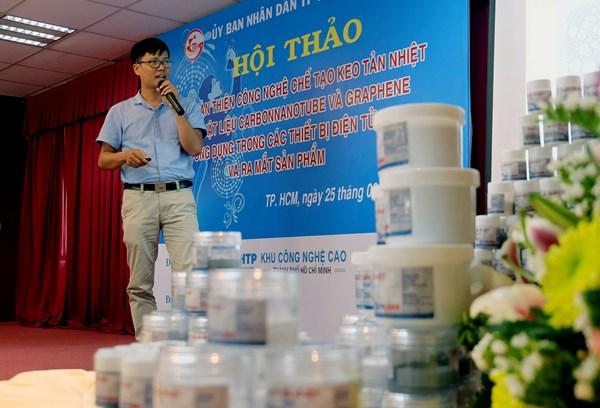 Việt Nam sản xuất thành công keo tản nhiệt dùng cho các thiết bị điện tử Ảnh 1