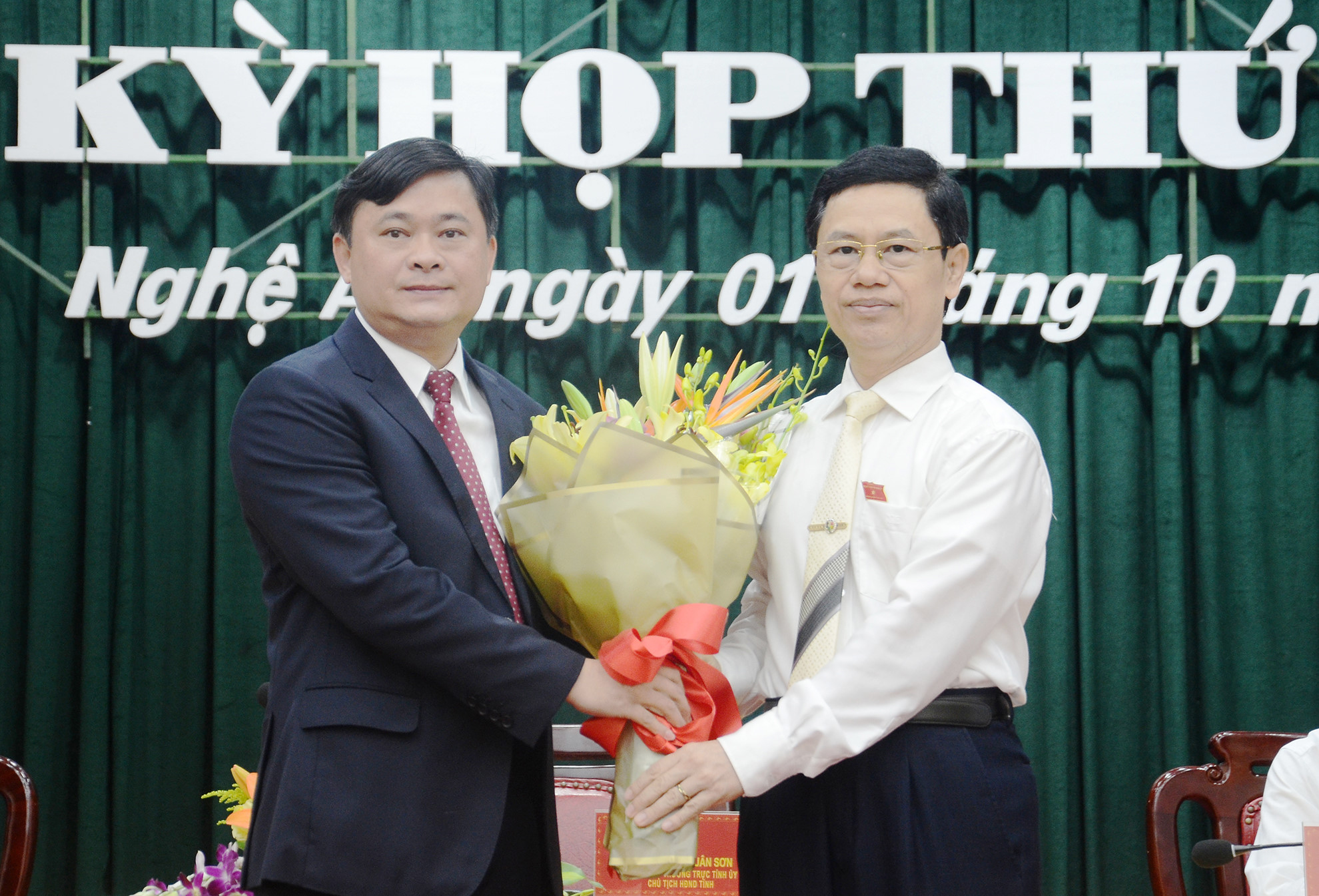 Nghệ An có tân chủ tịch UBND tỉnh 42 tuổi Ảnh 1