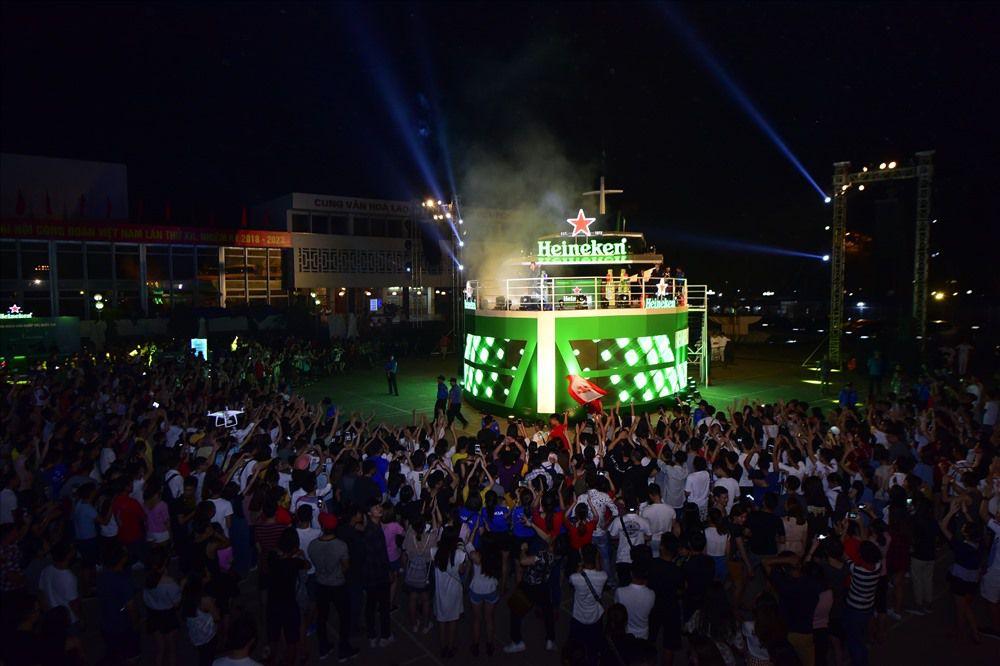 Heineken cùng 'Hành trình viễn dương' thắp sáng thành phố đất cảng Ảnh 1