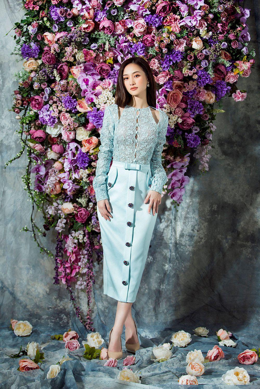 Guu thời trang đẹp tinh khôi của người đẹp Jun Vũ Ảnh 12