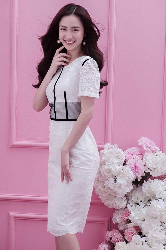 Guu thời trang đẹp tinh khôi của người đẹp Jun Vũ Ảnh 7