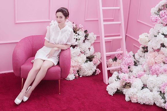 Guu thời trang đẹp tinh khôi của người đẹp Jun Vũ Ảnh 8