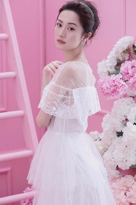Guu thời trang đẹp tinh khôi của người đẹp Jun Vũ Ảnh 6