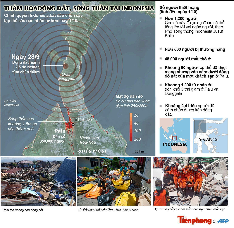 Toàn cảnh thảm họa động đất, sóng thần tại indonesia Ảnh 1
