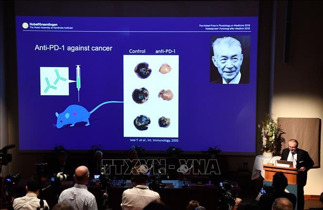 Nhà khoa học Tasuku Honjo cam kết tiếp tục công trình nghiên cứu điều trị ung thư Ảnh 1