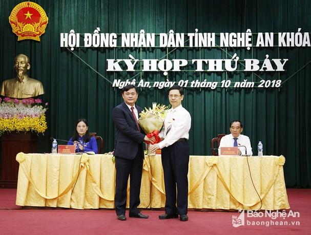 Đồng chí Thái Thanh Quý được bầu giữ chức Chủ tịch UBND tỉnh Nghệ An Ảnh 1