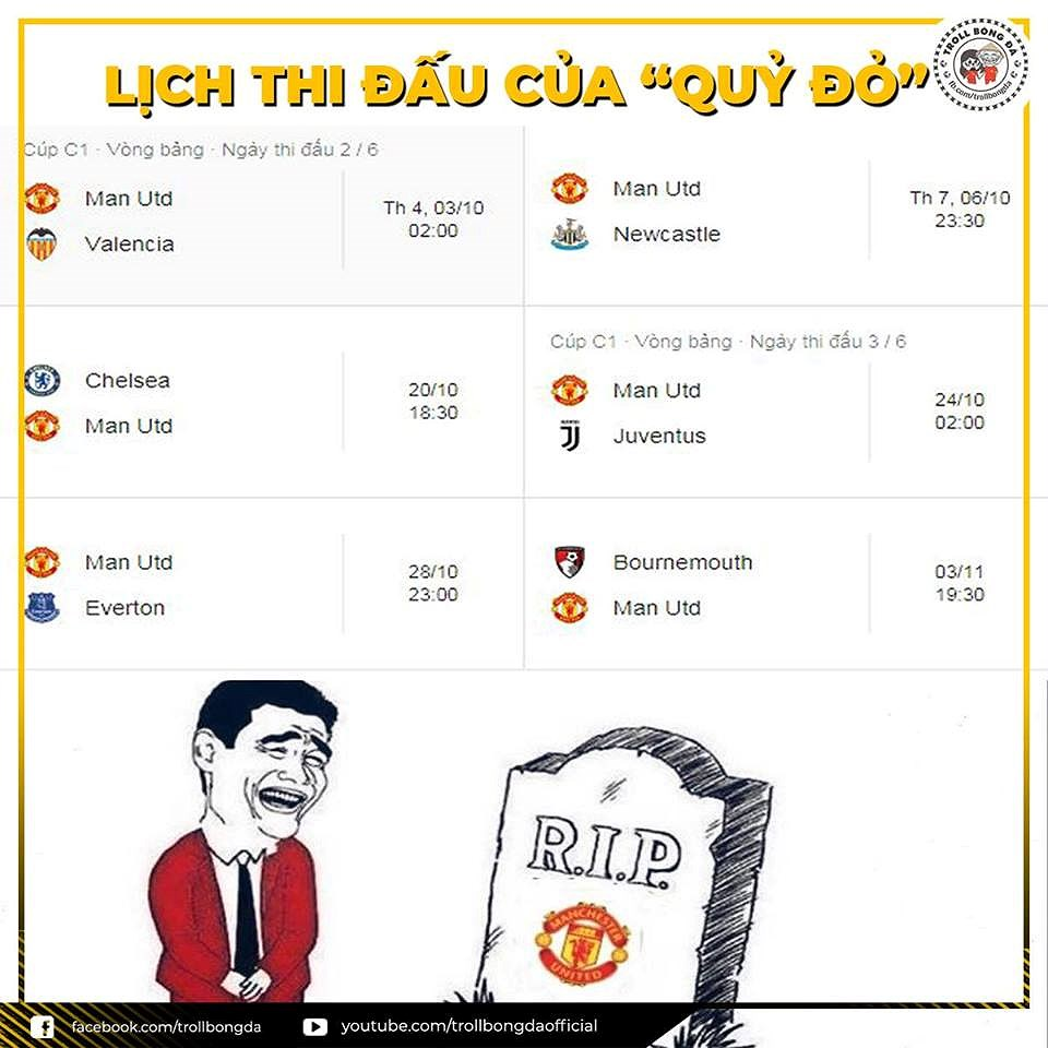 Biếm họa 24h: MU ngã ngửa vì lịch thi đấu, Man City 'ngư ông đắc lợi' Ảnh 5